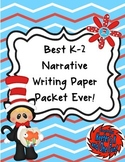 Best K-2 Narrative Writing Packet Ever!