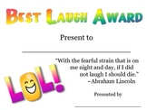 Best Laugh Award