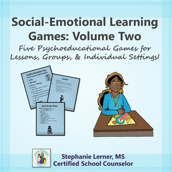 Social-Emotional Learning Games: Volume Two