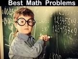 Best Math Word Problems