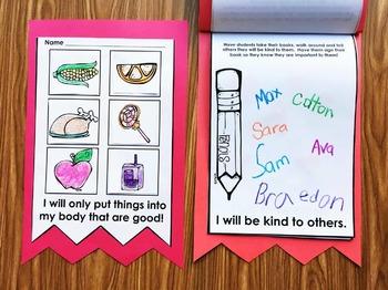 Red Ribbon Week Book for Kindergarten, First Grade, and Preschool