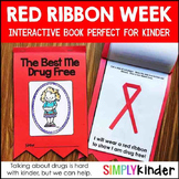 Red Ribbon Week Book for Kindergarten, First Grade, and Preschool