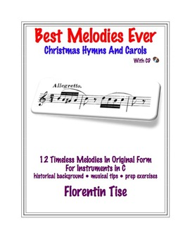 Best Melodies Ever: Christmas Hymns and Carols Instrumental with CD