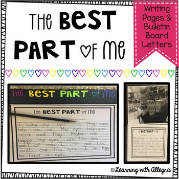 Best Part of Me {Writing and Bulletin Board}