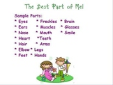 """Best Part of Me"" writing activity"