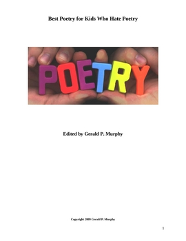 Best Poetry for Kids Who Hate Poetry!