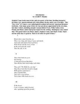 Best Poetry of Stephen Crane