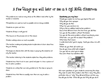 Best Practice Reminders and Note-taking/Reflection pages For Teachers