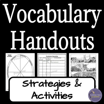 Vocabulary Strategies and Activities