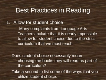 Best Practices for Language Arts Teachers