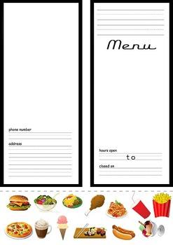 Best Printable Menu (Food Restaurant Writing Creative)
