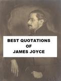 Best Quotations of James Joyce