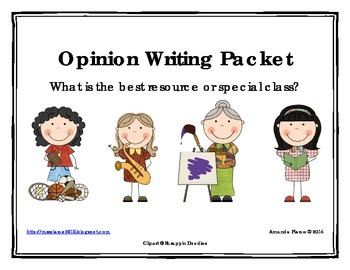 Best Resource or Special Class Opinion / Tell Why / Argume