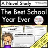 Best School Year Ever Novel Study Unit: comprehension, vocab, activities, tests