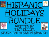 Best Seller Hispanic Holidays Power Points & Games Bundle