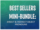 Best Sellers: Spanish Direct and Indirect Object Pronouns
