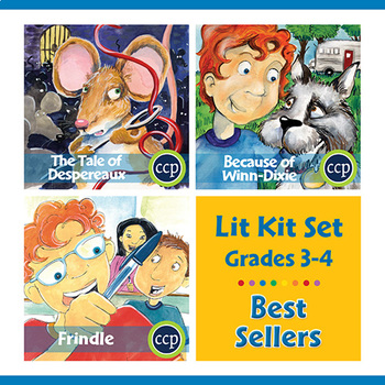Best Sellers Lit Kit Set - Gr. 3-4