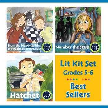 Best Sellers Lit Kit Set - Gr. 5-6