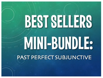 Best Sellers: Spanish Past Perfect Subjunctive