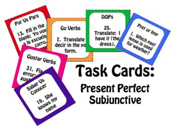 Best Sellers: Spanish Present Perfect Subjunctive