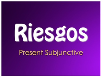 Best Sellers: Spanish Present Subjunctive
