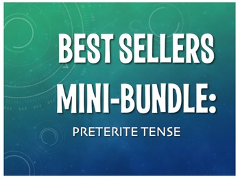Best Sellers: Spanish Preterite