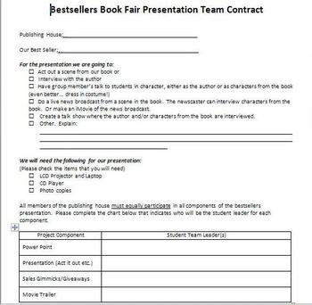 Best Sellers! Publishers Conference Prep Sheet