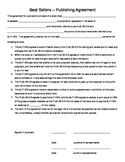 Best Sellers! Publishing House Agreement