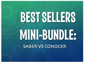 Best Sellers: Saber Vs Conocer