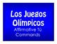 Best Sellers:  Spanish Affirmative Tú Commands