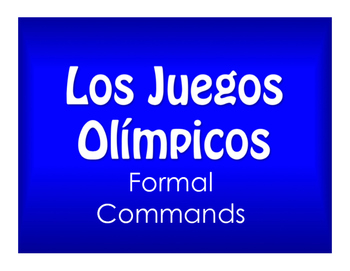 Best Sellers:  Spanish Formal Commands