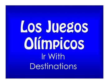 Best Sellers:  Spanish Ir With Destinations