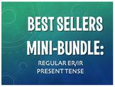 Best Sellers: Spanish Present Tense Regular ER and IR Verbs