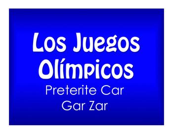 Best Sellers:  Spanish Preterite Car Gar Zar
