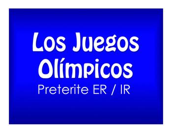 Spanish Preterite Regular ER and IR Best Sellers