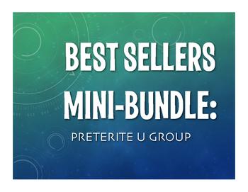 Best Sellers:  Spanish Preterite U Group
