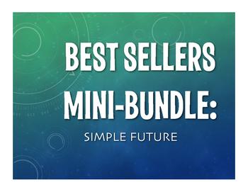 Best Sellers:  Spanish Simple Future