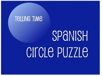 Best Sellers:  Spanish Telling Time