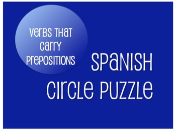 Best Sellers: Spanish Verbs That Carry Prepositions
