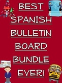 Best Ever Spanish Bulletin Board Bundle!/Expresiones, Cuerpo, Numeros, Reglas...