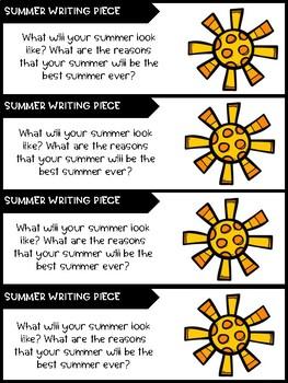 Best Summer Ever - Summer Writing Freebie