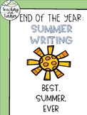Best Summer Ever - Summer Writing Freebie