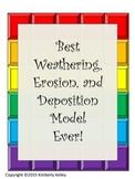 Best Weathering, Erosion, Deposition Model Ever- Inexpensi