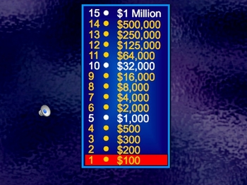 best who wants to be a millionaire?-powerpoint template review game, Powerpoint templates