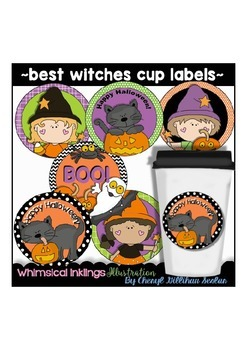 Best Witches Cup Labels
