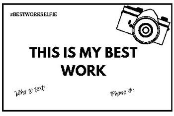 Best Work Selfie