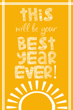 Best Year Ever Yellow