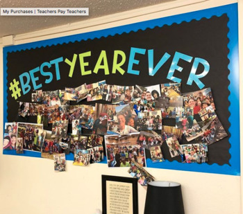 Best Year Ever | Cut out bulletin board letters
