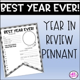 Best Year Ever (End of Year) Pennant Activity