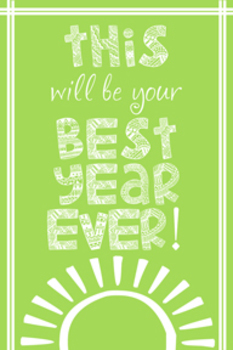 Best Year Ever Green